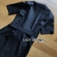 Lady Mandy Smart Minimal Drape Ribbon Black Dress ขายส่งเดรสผ้าเครป thumbnail 8