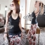 Lady Ribbon Online ขายส่งเสื้อผ้าออนไลน์ เสื้อผ้า Sevy SV05030816 &#x1F389Sevy Single Straps Sexy Back Bra Top thumbnail 1