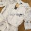 Lady Ribbon Online ขายส่ง เสื้อผ้าออนไลน์ ของแท้ ราคาถูกพร้อมส่ง เลดี้ริบบอน LR01140716 &#x1F380 Lady Ribbon's Made &#x1F380 Lady Elena Elegant Chic Button-Down White Lace Blouse with Ribbon thumbnail 5