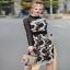 ผ้าลูกไม้เดรสแฟชั่นสไตล์เกาหลีแบรนด์ดัง thumbnail 2