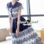 SS15010916 Seoul Secret Say's... Fashionista Navaly Blossom Set Material : เซ็ทเก๋ๆ สไตล์สาวแฟชั่นเก๋ๆ หวานๆ thumbnail 6