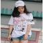 White CHANEL T-Shirt Lady Ribbon ทีเชิ้ตสีขาว thumbnail 1