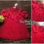 VP04310816 Red Layer Off-Shoulder Short Sleeves MiNi Dress มินิเดรสทรงเชิตสีแดงสวย thumbnail 5