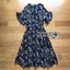Lady Ribbon Nasha Mixed Wild Floral Printed Chiffon Ruffle Dress เดรสผ้าชีฟอง thumbnail 6