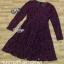 Dress แขนยาวคอกลม ซิปหลัง thumbnail 5