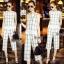 Lady Ribbon Online เสื้อผ้าออนไลน์ขายส่ง Normal Ally เสื้อผ้า NA12180816 &#x1F389Normal Ally Present casual summer scoth set&#x1F389 (เสื้อ + กางเกง , มีซับใน) thumbnail 1