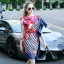 Lady Ribbon Online ขายส่งเสื้อผ้าแฟชั่นออนไลน์ เสื้อผ้า Normal Ally NA11080816 &#x1F389Normal Ally Present Elegance Silp scarf dress&#x1F389 (เดรสคลุม + เชือกพันรอบเอว) thumbnail 2