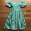 Checked Dress Lady Ribbon ขายเดรสผ้าคอต thumbnail 8