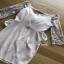 Lady Ribbon Crepe Dress เดรสผ้าทูลล์ ปักลายและตกแต่งมุก thumbnail 5