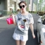 SS16010916 Seoul Secret Say's... Chic Denim Chill Dresss Material : เนื้อผ้ายีนเดนิมผสมคอตตอน thumbnail 3