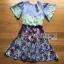 Mixed Printed Chiffon Lady Ribbon Dress เดรสผ้าพิมพ์ลาย thumbnail 8