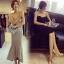 Lady Ribbon Online ขายส่งเสื้อผ้าออนไลน์ เสื้อผ้า Sevy SV08030816 &#x1F389Sevy Strapless Mermaid Tail Midi Dress thumbnail 3