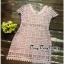 ผ้าลูกไม้ถักทอ Dress Premium thumbnail 5