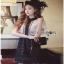 Lace Mix Dress Lady Ribbon เดรสลายเพชร thumbnail 1