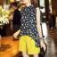 Lady Ribbon Online เสื้อผ้าออนไลน์ขายส่ง Normal Ally เสื้อผ้า,NA16220816 &#x1F389Normal Ally Present Tulip print shirt and pant with belt set&#x1F389 (เสื้อ + กางเกง + เข็มขัด) thumbnail 2