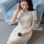 Lady Ribbon Sweet Allure Lace Mini Dress thumbnail 6