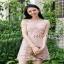 Lady Ribbon Grace Feminine Lace Dress thumbnail 3