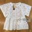 Lady Ribbon Online ขายส่งเสื้อผ้าออนไลน์ ขายส่งของแท้พร้อมส่ง Lady Ribbon LR15250716 &#x1F380 Lady Ribbon's Made &#x1F380 Lady Romy Romantic White Guipure Lace and Cotton Top thumbnail 5