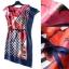 Lady Ribbon Online ขายส่งเสื้อผ้าแฟชั่นออนไลน์ เสื้อผ้า Normal Ally NA11080816 &#x1F389Normal Ally Present Elegance Silp scarf dress&#x1F389 (เดรสคลุม + เชือกพันรอบเอว) thumbnail 6