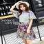 Mixed Printed Chiffon Lady Ribbon Dress เดรสผ้าพิมพ์ลาย thumbnail 3