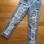 Lady Ribbon Online ขายส่งเสื้อผ้าออนไลน์เลดี้ริบบอน LR07010816 &#x1F380 Lady Ribbon's Made &#x1F380 Lady Elina Washed Ripped Skinny Jeans กางเกงยีนส์ thumbnail 6