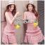 Mini Dress Lady Ribbon ขายมินิเดรส thumbnail 2