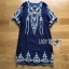 Lady Ribbon Jena Vintage Blue Cotton Dress thumbnail 6