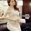 ady Ribbon Angelica White Guipure Lace Dress เดรสผ้าลูกไม้สีขาว thumbnail 2