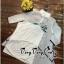 VP05310816 Luxurious White Silk Embroidered Shirt Dress เดรสเชิตงานปักสไตล์วินเทจสวยมาก thumbnail 4
