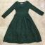 Luxury Lace Dress Long dress ลูกไม้ยาว คอวี thumbnail 8