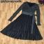 พร้อมส่ง Dress เนื้อผ้างาน Knit เนื้อผ้าพิเศษสวย thumbnail 6