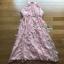 Tulle Peach Cocktail Dress Lady Ribbon เดรสผ้าทูลเล thumbnail 6