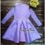 Lady Ribbon Online ขายส่งเสื้อผ้าออนไลน์ Very very pretty VP04030816 Luxury Lace Cut-Out Embroidered Pearls Dress เดรสผ้า thumbnail 5