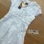 Lady Ribbon Online ขายส่งเสื้อผ้าออนไลน์ เลดี้ริบบอน LR07280716 &#x1F380 Lady Ribbon's Made &#x1F380 Lady Hana Classic Feminine Lace Maxi Dress in White thumbnail 7