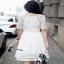 dress. ลูกไม้คอกลมแขนสั้น thumbnail 3