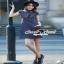 Seoul Secret Catty Denim Dress เดรสเชิ้ตเก๋ ดีเทลน่ารักๆ thumbnail 4