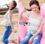 Lady Ribbon Online ขายส่ง เสื้อผ้าออนไลน์ ของแท้ ราคาถูกพร้อมส่ง เลดี้ริบบอน LR06140716 &#x1F380 Lady Ribbon's Made &#x1F380 Self-Portrait Off-Shoulder White Lace Corset thumbnail 2