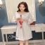เสื้อผ้าแฟชั่นเกาหลีCliona made'Embroidered Easy thumbnail 1