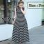 Maxi Dress แฟชั่นลุคคลาสสิก thumbnail 3