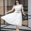 Lady Ribbon Leslie Modern Feminine Lace Shirt thumbnail 5