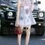 Lady Ribbon Online เสื้อผ้าออนไลน์ขายส่ง Normal Ally เสื้อผ้า NA09180816 &#x1F389Normal Ally Present elegance embroider flower asian organza style dress&#x1F389 thumbnail 2