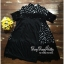 Lady Ribbon Online เสื้อผ้าออนไลน์ ขายส่ง VP05110716 Polka Dots Chiffon mix Lace MiNi Dress thumbnail 4