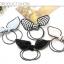 w1382 - Hair Accessories,ที่คาดผม,เครื่องประดับผม,กิ๊ปติดผม,เครื่องประดับ rabbit ears high elastic rubber band thumbnail 8