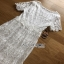 Lady Ribbon Summer Casual Basic White Lace Maxi Dress thumbnail 5