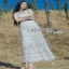Lady Ribbon Natalie Graphic Feminine Maxi Dress thumbnail 4