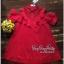 VP04310816 Red Layer Off-Shoulder Short Sleeves MiNi Dress มินิเดรสทรงเชิตสีแดงสวย thumbnail 6