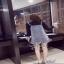 เสื้อผ้าแฟชั่นเกาหลีเสื้อกระโปรง เอี้ยมสายเดี่ยวใส่เข้าชุดกัน thumbnail 4