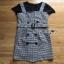 Lady Ribbon Black T-Shirt Dress Set ขายเซ็ตเสื้อยืด thumbnail 11