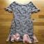 Grey & Pink Lace Dress Lady Ribbon เดรสเทาชมพู thumbnail 8
