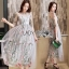 Lady Ribbon Midi Dress thumbnail 3